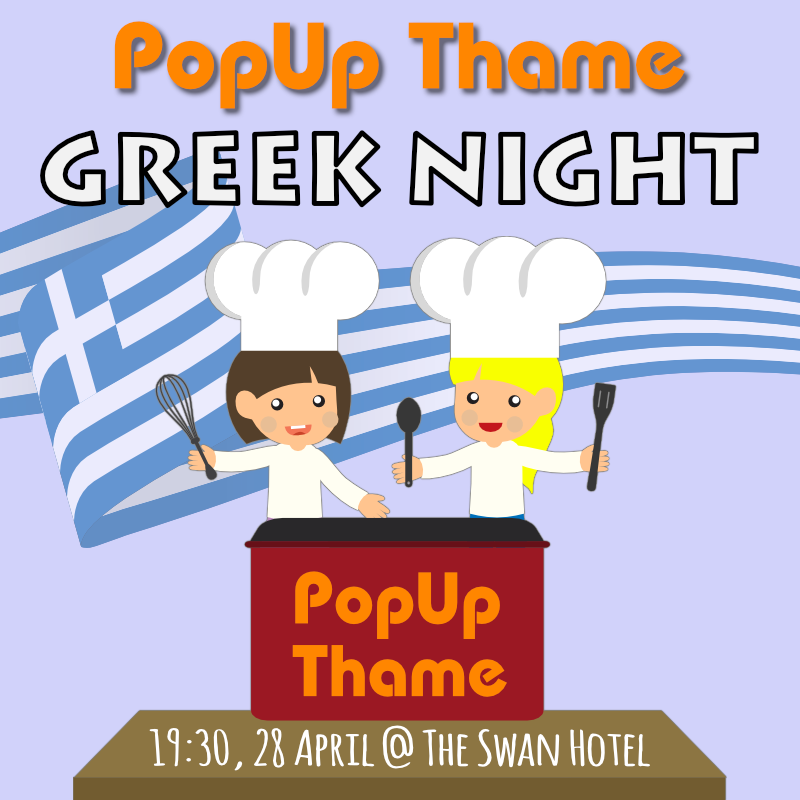 Greek Evening - PopUp Restaurant