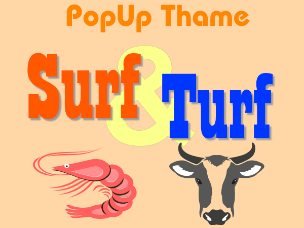 Previous Events - Surf 'n' Turf evening