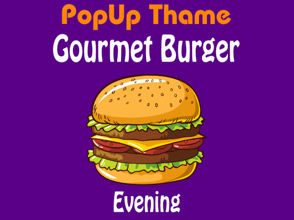 Previous Events - Gourmet Burger Evening