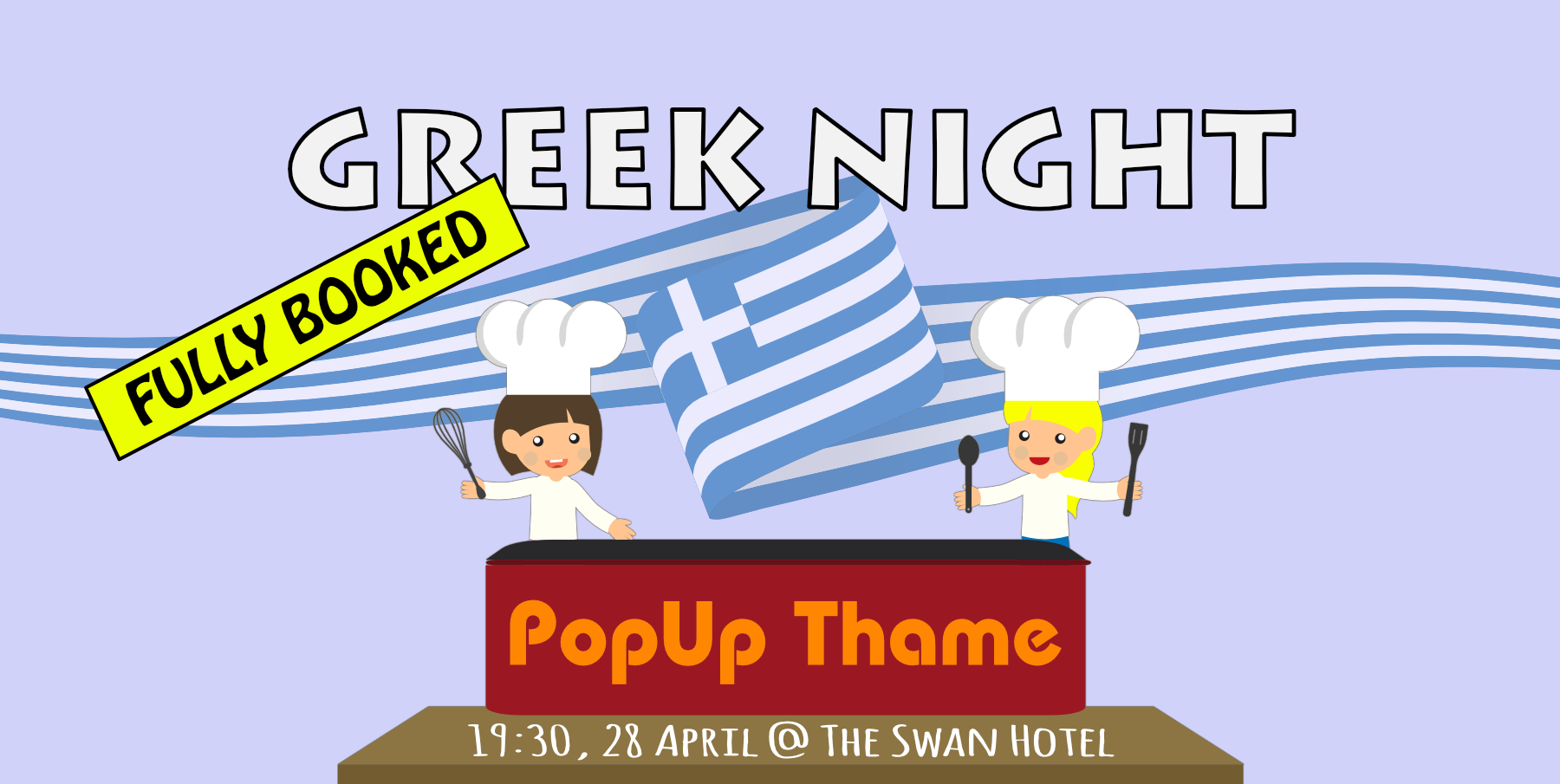 Greek Evening at The Swan, Thame